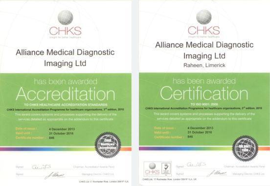 Accreditation Certification