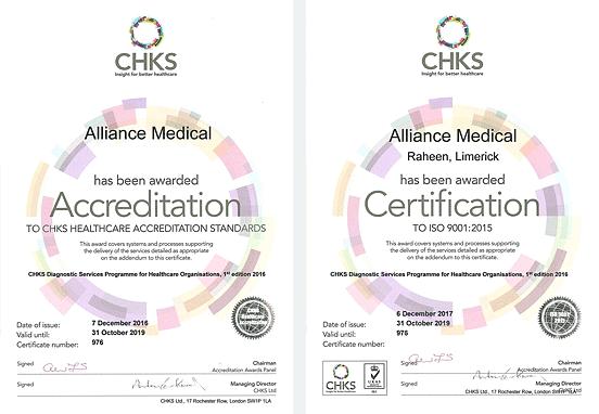 CHKS Accreditation Certification